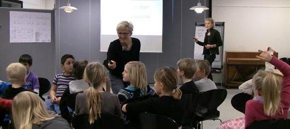 Foredrag på Tjørnegårdsskolen i Roskilde